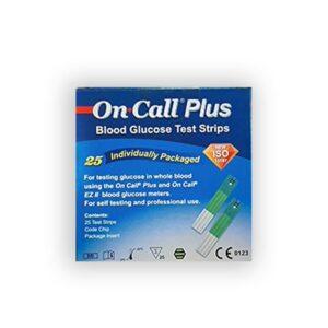 نوار تست قند خون On Call Plus مدل G133-115