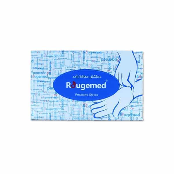 دستکش یکبار مصرف رژمد مدل ونیل ( 50 عددی )